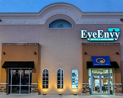 exterior of eye envy optical